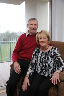 William and Moira new Bield Tenants