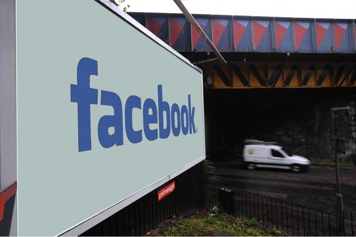 Facebook billboard for Digital PR Post