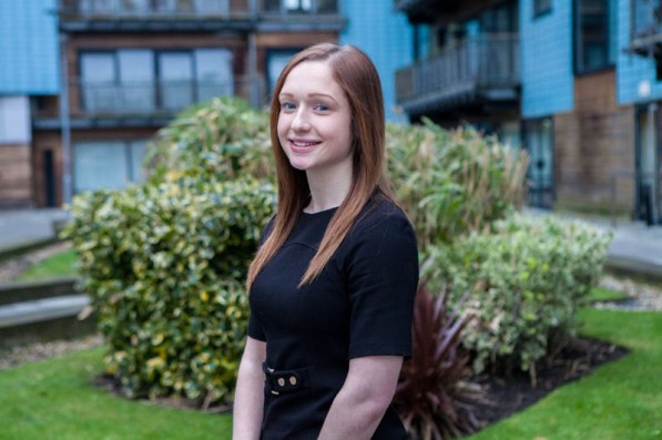PR photos of Lisa Fiander, ethical hacker with the Scottish Business Resilience Centre