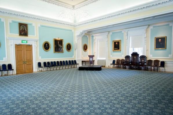 Playfair Room at Surgeons' Hall in Edinburgh