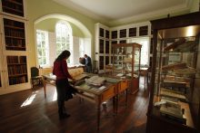 Innerpeffray Library - Scotland's first free Public Lending Library, by Crieff, Perthshire.