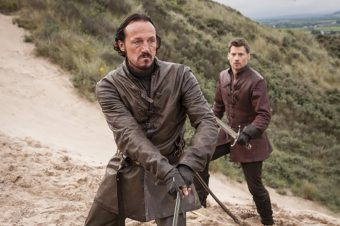 Hired help in Game of Thrones includes Bronn the sellsword