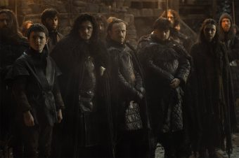 Members of the Night's Watch in Game of Thrones