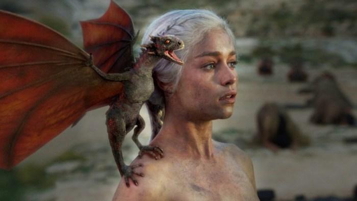 Dragon Queen Daenerys Targareyn in Game of Thrones