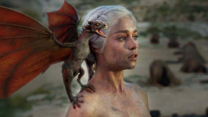 Dragon Queen Daenerys Targareyn in Game of Thrones