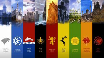 Each powerful family in Game of Thrones has a sigil