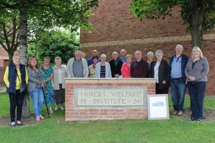 Scotland PR promote Miners' Stone