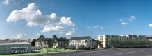 A picture of the proposed CALA Homes development at Leith Docks