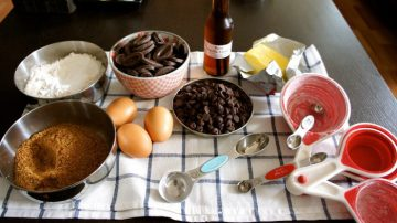 Image of baking ingredients for Edinburgh PR blog