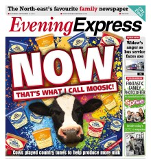 Front page public relations success for Mackie's of Scotland