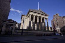 Edinburgh PR photograph of Surgeons Hall