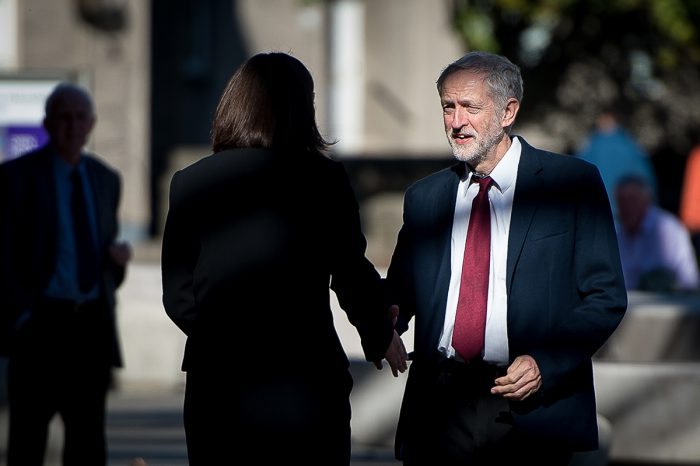 New Labour leader, Jeremy Corbyn's first visit to Edinburgh to meet Kezia Dugdale