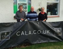 Aberdour Golf day part sponsored by CALA Homes