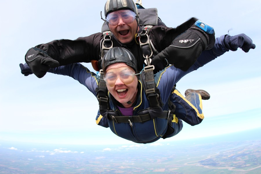 Bell Ingram staff Skydive