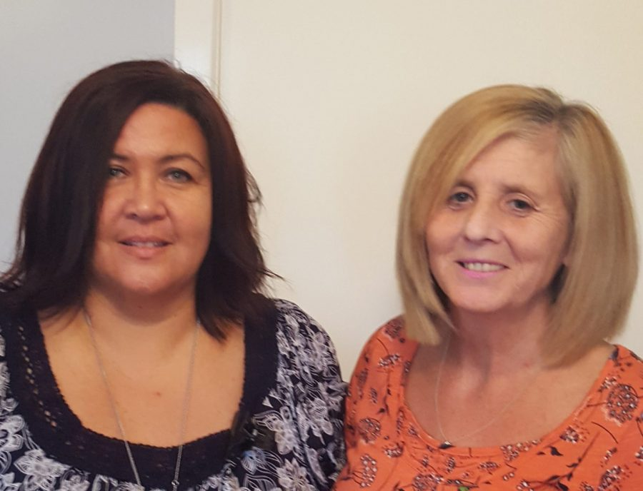kim bell and julie henvey by Scottish PR Consultants