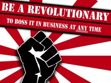 be a revolutionary not a new year resolutionary