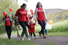 PR for SKFF Great Strides charity event
