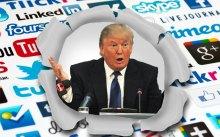 Donald Trump Social Media and Digital PR
