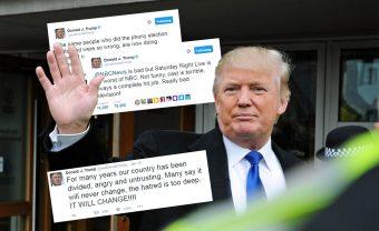 Trump Twitter Collage