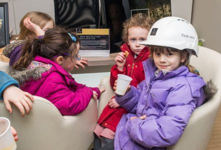 PR Photos of the kids from Ratho Primary School enjoying a quick snack