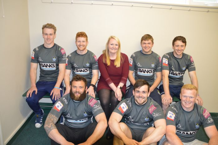 Hawick Rugby Club are sponsored by Banks Renewables who are represented by Scottish PR Agency, The Holyrood Partnership