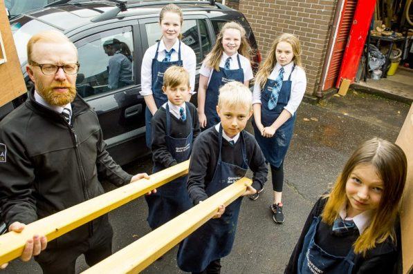 Students and CALA showcase timber donation through PR Photography