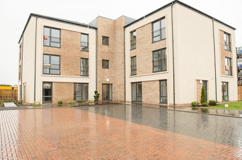 The Outside of the Dalmeny Park Apartments, South Queensferry is captured by PR Photgraphy