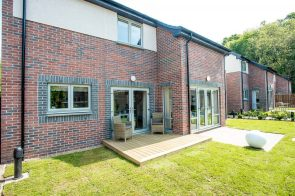 The back garden of CALA Homes' Kinleith Showhome as shown by PR Photography