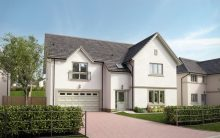 Property PR image of The Oaks. This CGI image shows Plot 2 at the CALA Homes development in Linlithgow