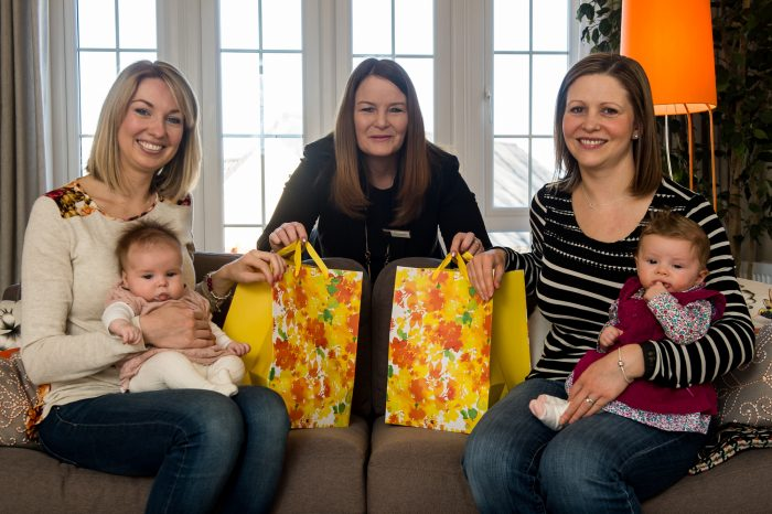 Cala Graigpark Newborn Babies enjoying photography for Edinburgh PR agency