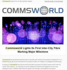 Commsworld newsletter