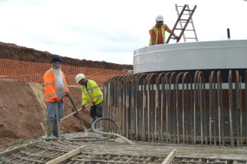 Stock renewables construction picture from Scottish PR Agency