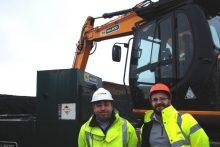 Gordon Thomson of Banks and Spencer Carnie of RJ McLeod from Scottish PR Agency