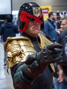 Judge Dredd PR Edinburgh
