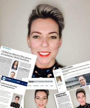 Scottish PR Agency boost appointment news