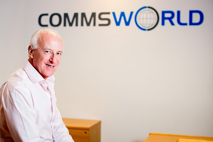 An image of Andy Arkle, Commercial Director at Commsworld - in story told by tech PR experts
