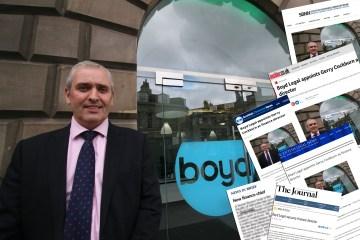 Gerry Cockburn Legal PR Coverage
