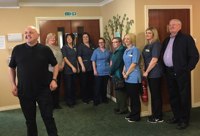 Tommy and the team at Hatton Lea for Edinburgh PR