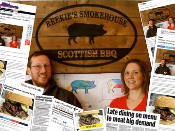 Reekie's Smokehouse Enjoying Food and Drink PR Success