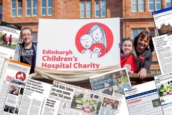 Edinburgh Children's Hospital Charity enjoying Charity PR