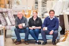 Property PR photography for CALA Homes and Fresh Start homeless charity