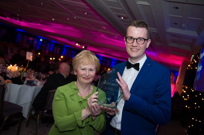 Digital inclusion award for Blackwood as part of Charity PR story