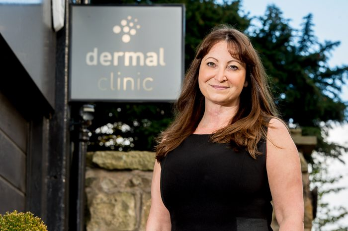 Dermal Clinic's Jackie for Edinburgh PR