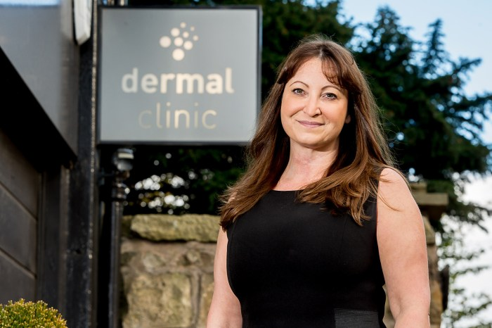 Dermal Clinic,'s Jackie for Edinburgh PR