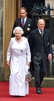 The Royal Family in Edinburgh