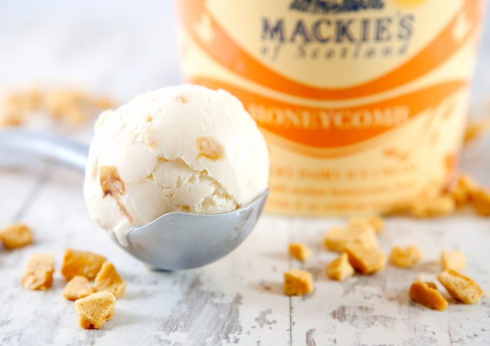 Food and Drink PR Mackie's honeycomb ice-cream