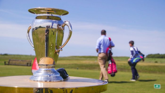 Van Horn Cup made for kids at U.S. Kids Golf European Championship by Scottish PR Agency