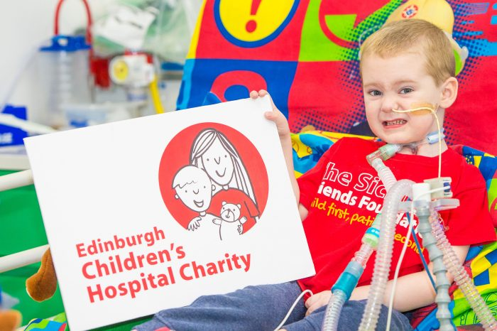 Images from the PR agency for Edinburgh Children's Hospital Charity