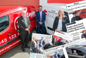 PR success for Eagle Couriers