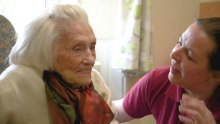 Bupa resident, Margret Philips, also know as the nan whol loves naan